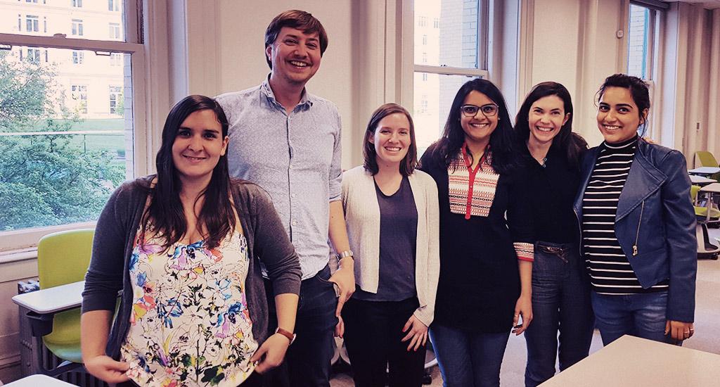 Imaginaries Lab team, May 2017