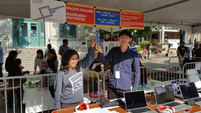 Electric Acoustic at Pittsburgh Maker Faire