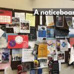 A noticeboard