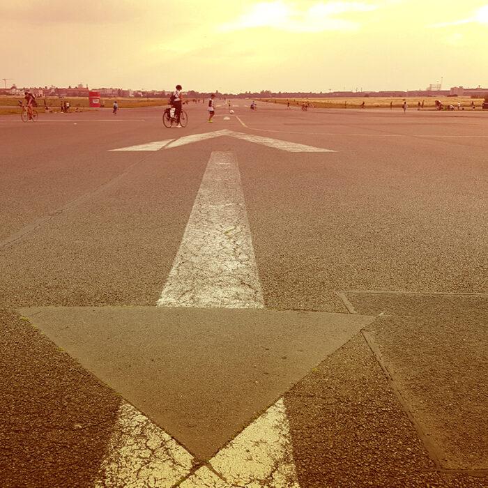Tempelhof runway