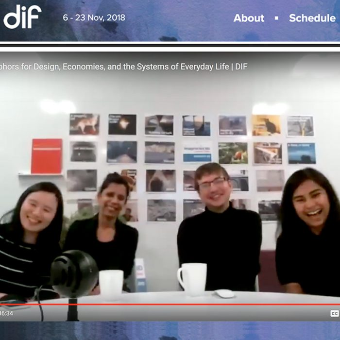 DIF 2018: New Metaphors for Design, Economies, and the Systems of Everyday Life